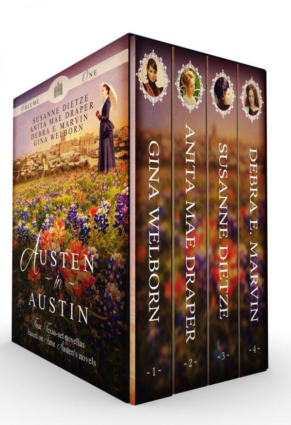 Austen in Austin, Volume 1 Boxset by Debra E. Marvin on BookTweeter.com